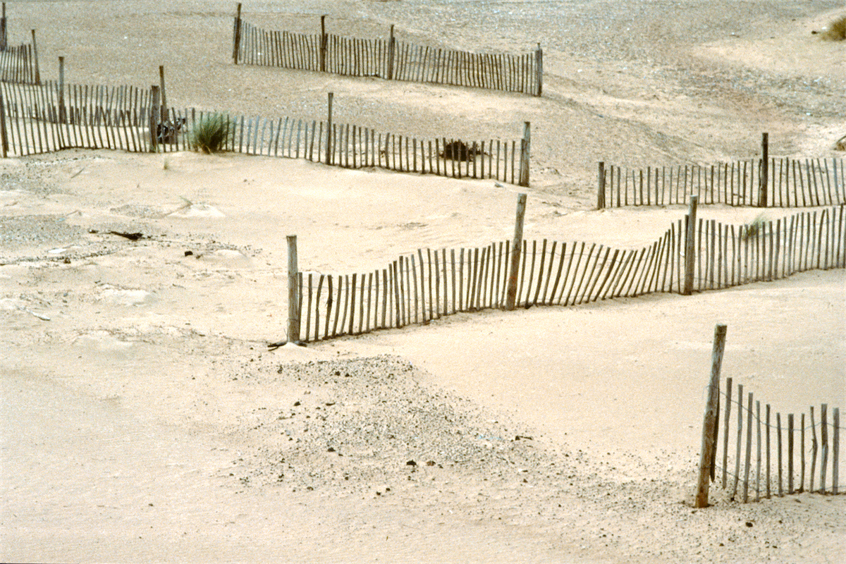 Sand Fences, Blakeney photo © Thomas Deckker 1997